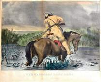 Currier & Ives, Trappers Last Shot