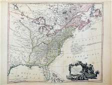 Faden Map of North America