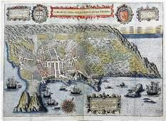 Linschoten Map of the Island of Terceira