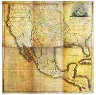 Robinson Map of Mexico