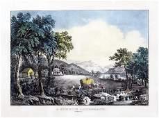 Currier  Ives A Summer Landscape