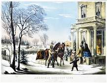 Currier & Ives, American Country Life