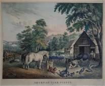 Currier American Farm Scenes No 3