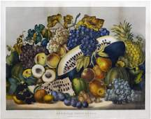 Currier & Ives, American Fruit Piece