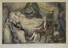 Currier, Death of Washington