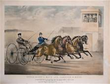 Currier & Ives, Ethan Allen and Mate and Lantern and