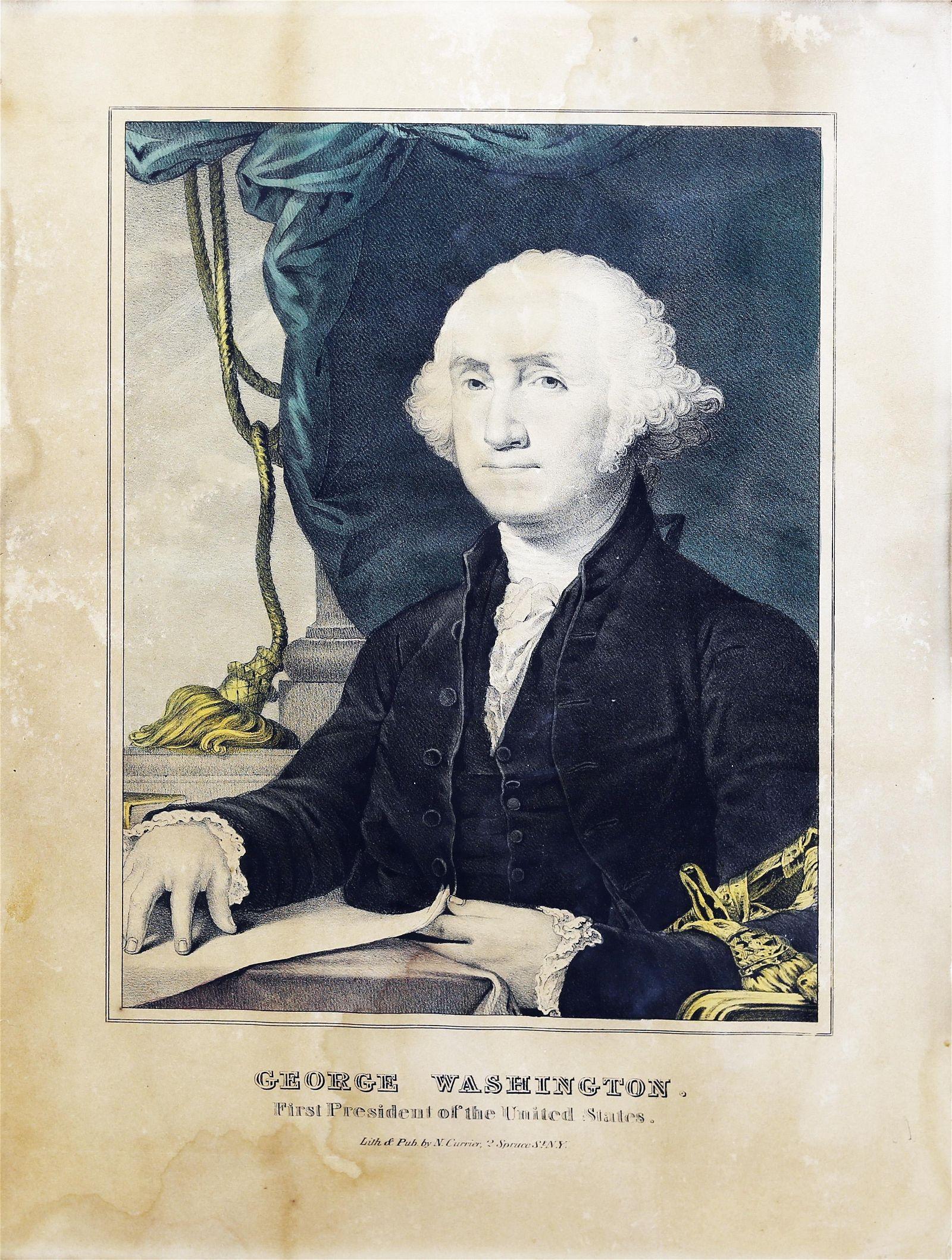 Currier, George Washington