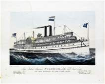 Currier & Ives, New Palace Steamer Pilgrim