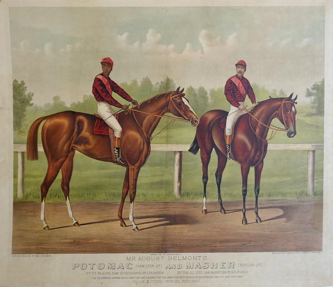 Currier & Ives, Potomac and Masher
