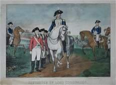 Currier & Ives, Surrender of Lord Cornwallis