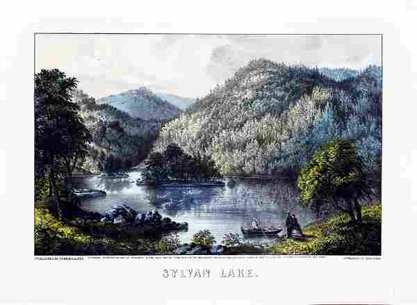 Currier & Ives, Sylvan Lake