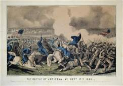 Currier & Ives, The Battle of Antietam, MD