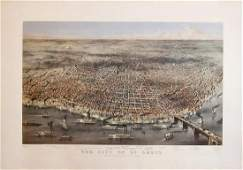 Currier & Ives, The City of St. Louis
