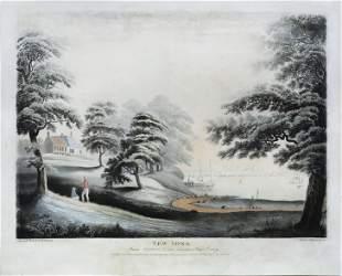 Jukes & Robertson, New York from Hobuck Ferry