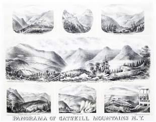 Schile Panorama of the Catskill Mountains
