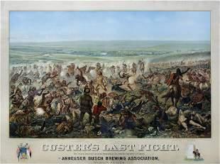 Adam, Budweiser Beer, Custer's Last Fight