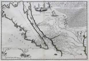 De Fer Map showing California as an Island