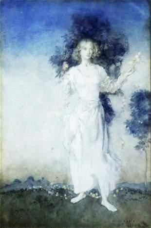 Rackham Watercolor of Spring