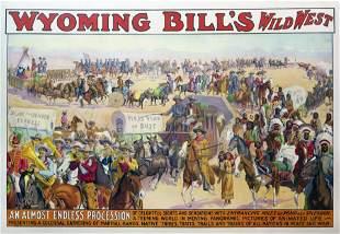 Chromo of Wyoming Bill