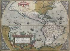Ortelius Map of Americas