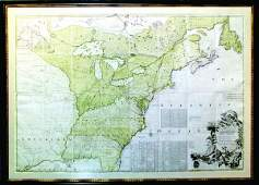 Mitchell Map of North America - The Most Important Map