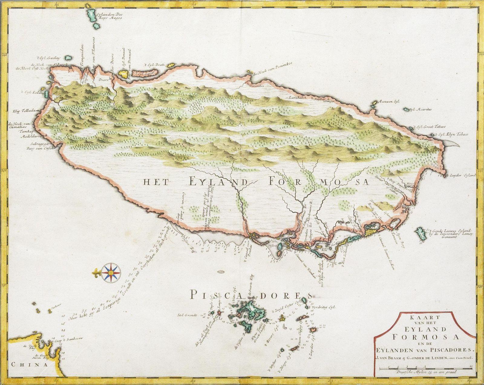 Valentijn Map of Forma (Taiwan)