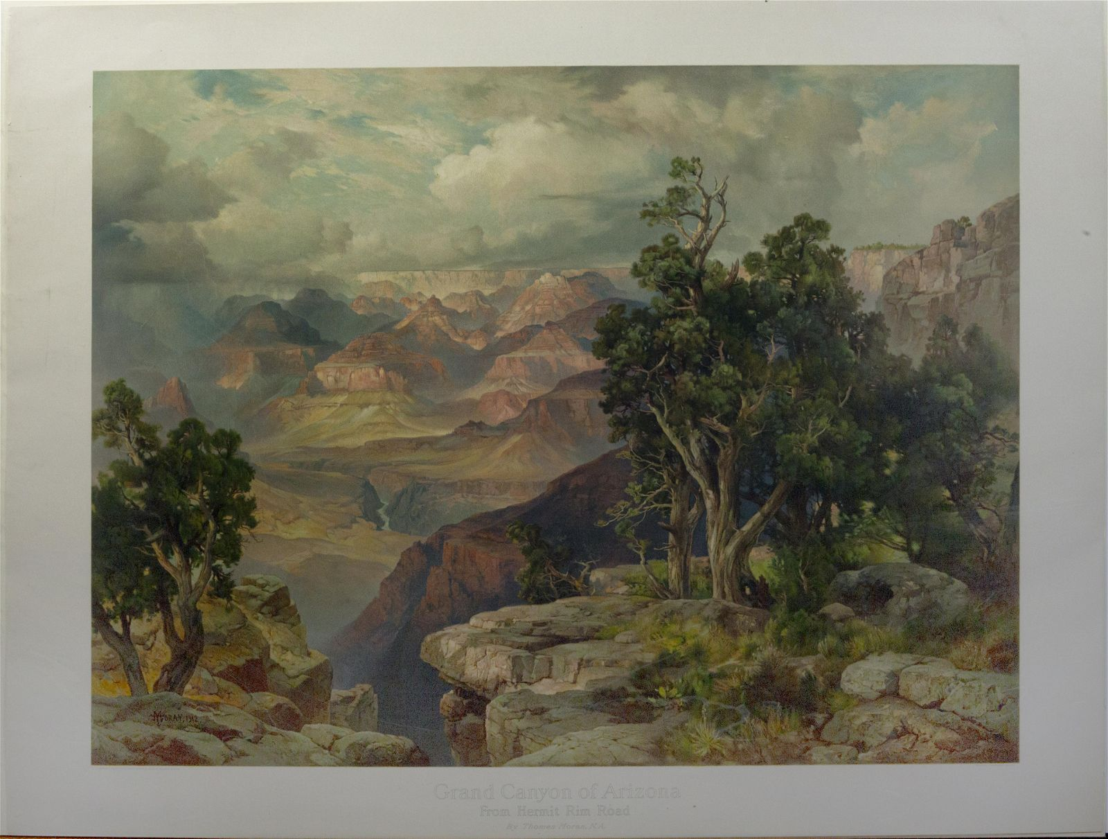 Moran View of the Grand Canyon, 1912