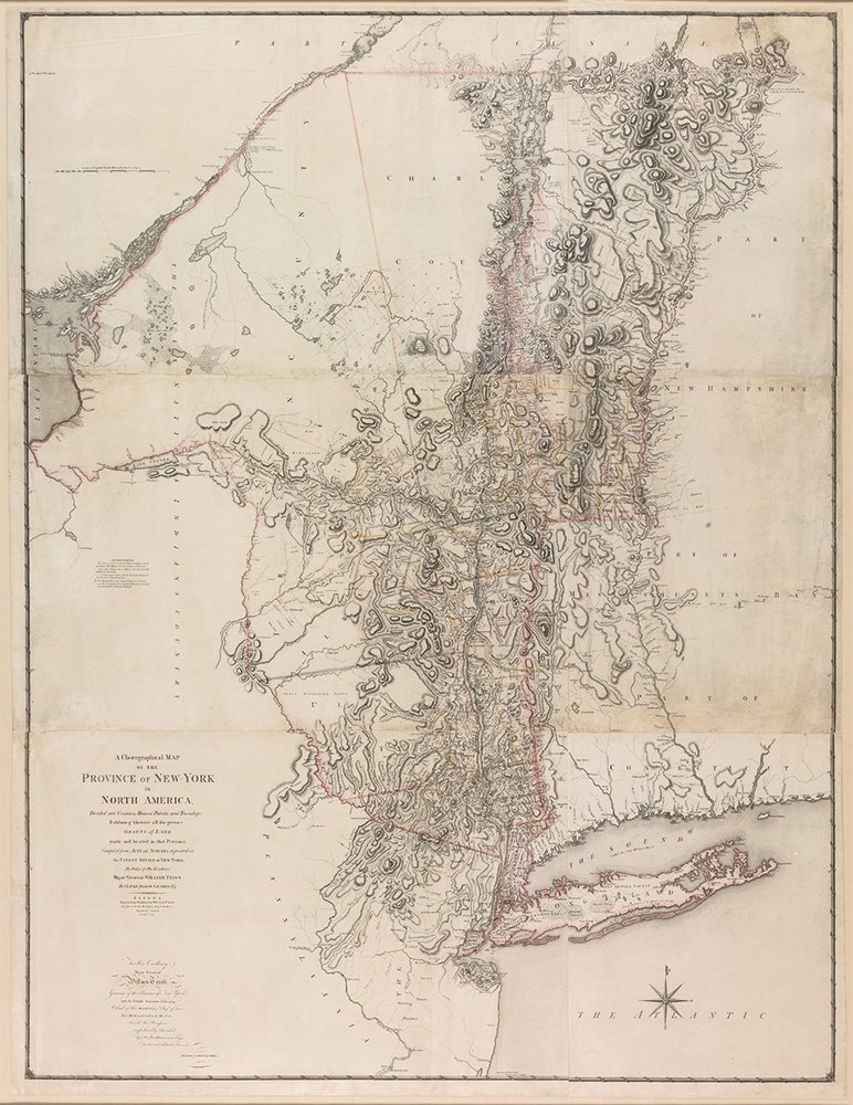 Sauthier map of NY