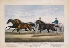 Currier & Ives, Ethan Allen and Mate and Dexter, 1867