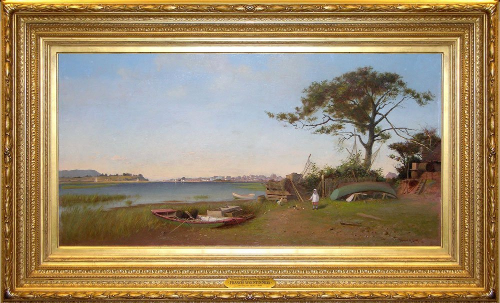 Francis Augustus Silva, Seabright from Galilee, New