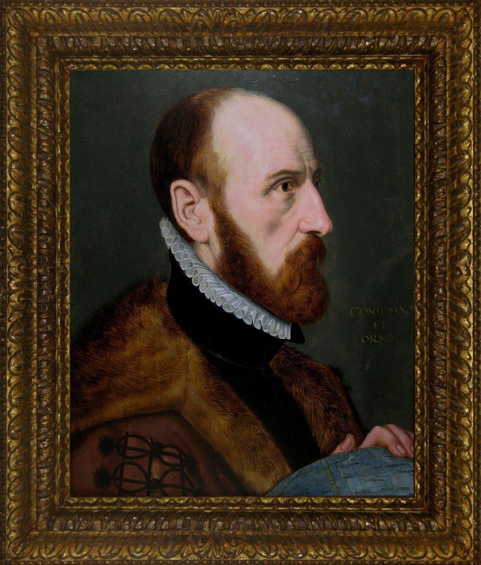 Portrait of Abraham Ortelius