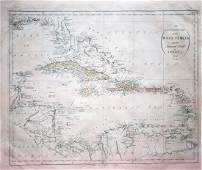An Accurate Map of the West Indies with Adjacent Coast
