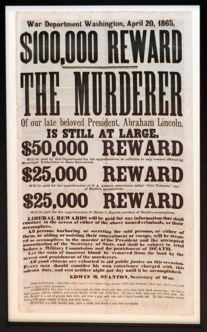 Assassination Broadside