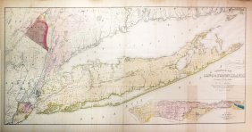 Mather's Map Of Ny, 1842