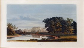 Frogmore From Pyne's History Of Royal Residences