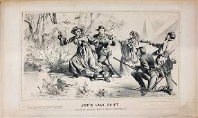 Buffords Lithograph Jeffs Last Shift 1865