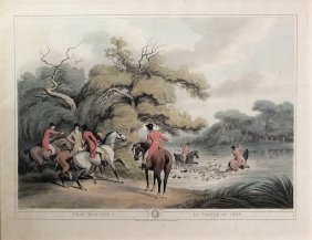 Howitt Aquatint From Orme's Collection Of British Field