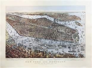 A Stunning birds-eye view of New York