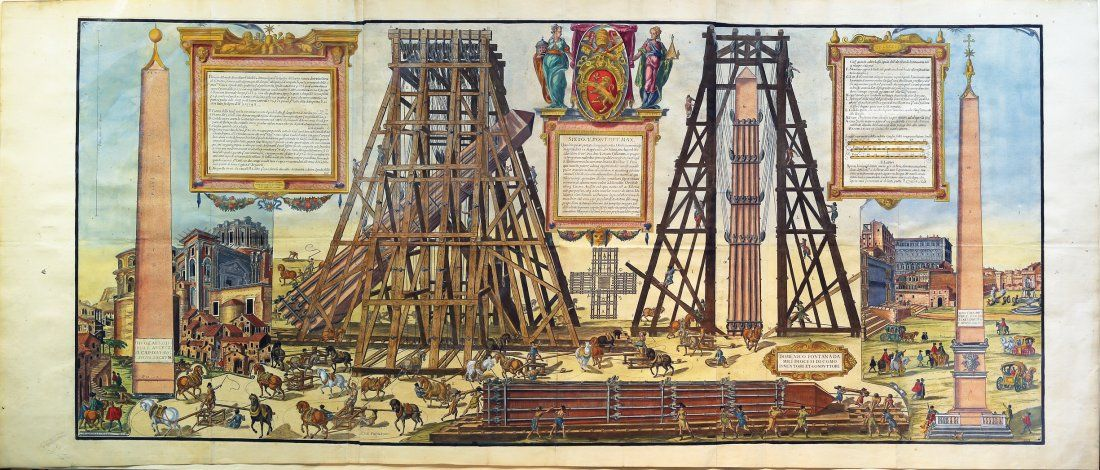 Engraving from Blaeu's New Theatre of Italy