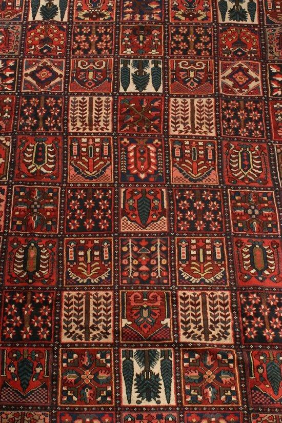 12: A Baktiari Carpet, Central Persia,