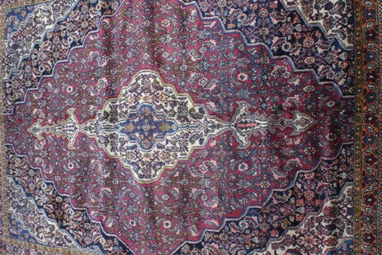 13: A Bibikabad Carpet, Central Persia,
