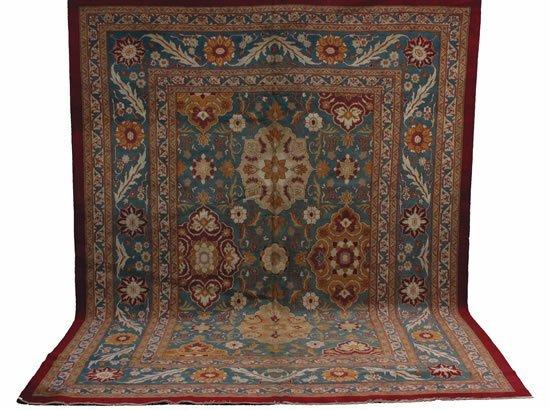 15: An Agra Carpet, Northwest  India,