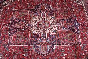 A Heriz Carpet, Northwest Persia,