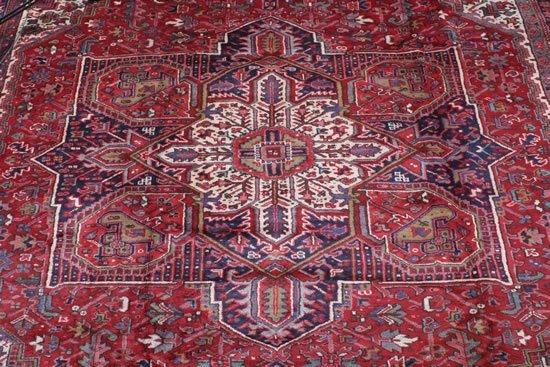 23: A Heriz Carpet, Northwest Persia,
