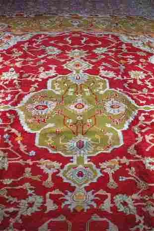 An Oushak Carpet, West Anatolia,