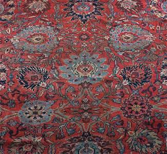 395: A Mahal Carpet, Central Persia,