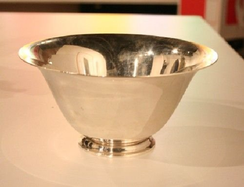 6A: An American Silver Bowl, Tiffany & Co., Diameter 6