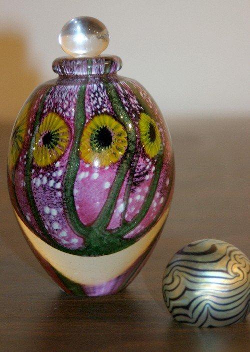 295: A Contemporary Glass Perfume Bottle, Height of fir