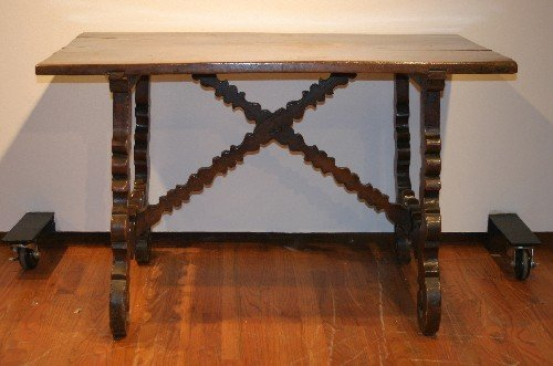 818: A ContinentalTable, Height 29 1/2 x width 48 x d