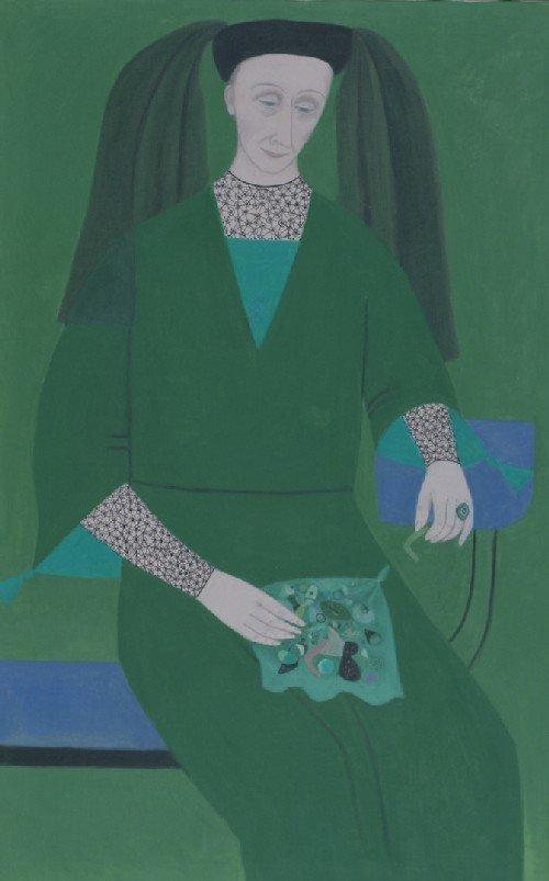 2: Doris Emrick Lee, (American, 1905-1983), Portrait of